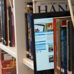 Mange nye e-bøker på biblioteket.